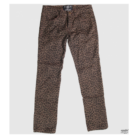 Damen Hose COLLECTIF - Leopard - CLO1 30