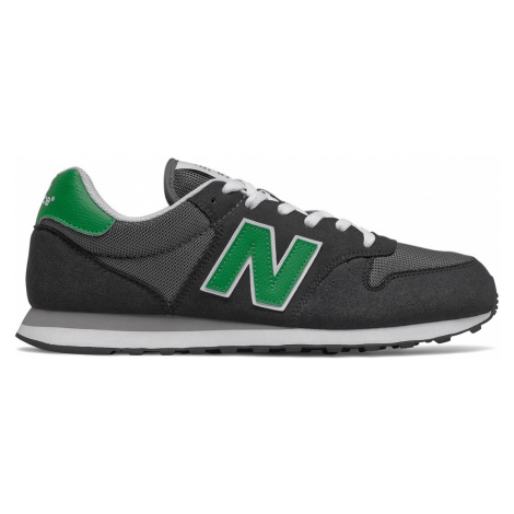 New Balance Sneaker Herren GM500TN1 Black/Green Schwarz