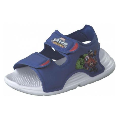 Blaue sandalen für jungen