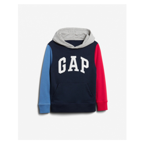 GAP Sweatshirt Kinder Blau