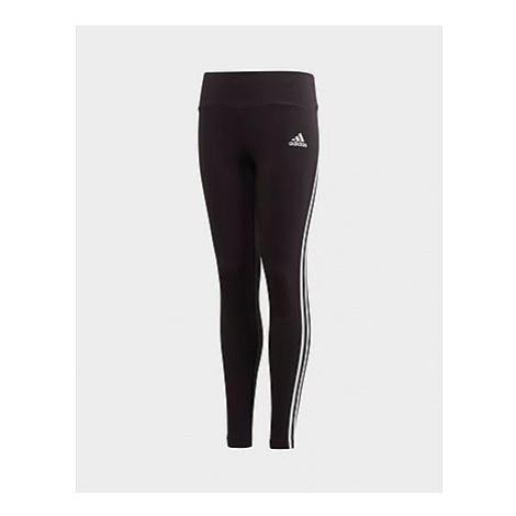 Adidas 3-Streifen Cotton Tight - Black / White, Black / White