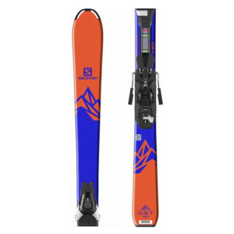 Salomon QST MAX JR M + L7 - Kinder Ski