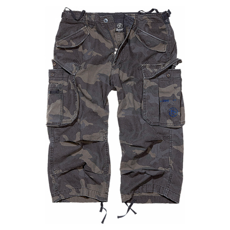 Brandit Shorts INDUSTRY VINTAGE CARGO 3/4 SHORTS BD2003 Darkcamo
