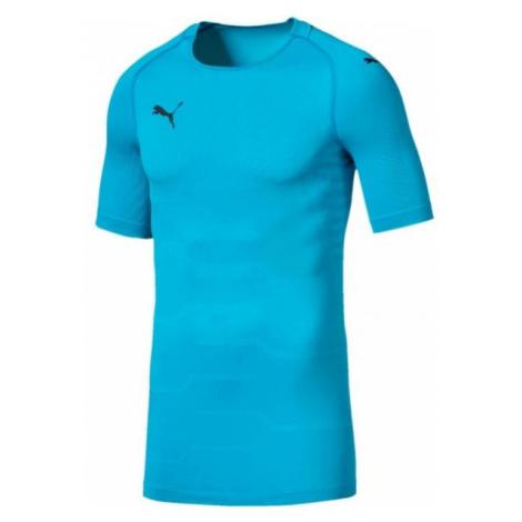 Puma FINAL evoKNIT GK Jersey blau - Herren T-Shirt