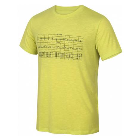 Herren T-Shirt Husky Tingl M hell. green