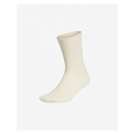 adidas Originals No-Dye Cuff Crew Socken Beige