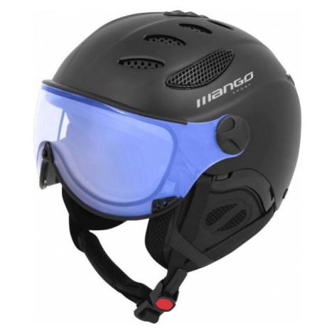 Schwarze skihelme