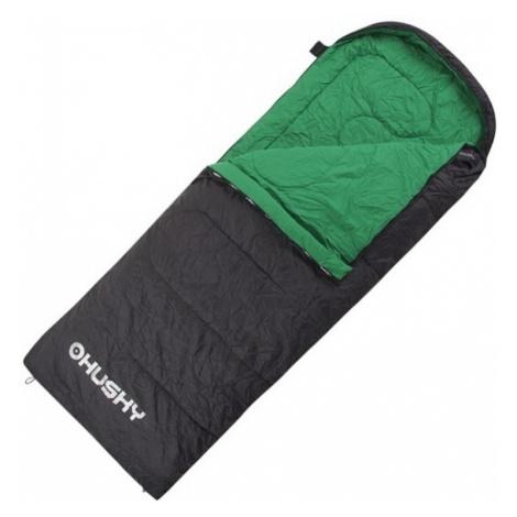 Schlaf Sack Decke Husky Gala +5°C grau / grün