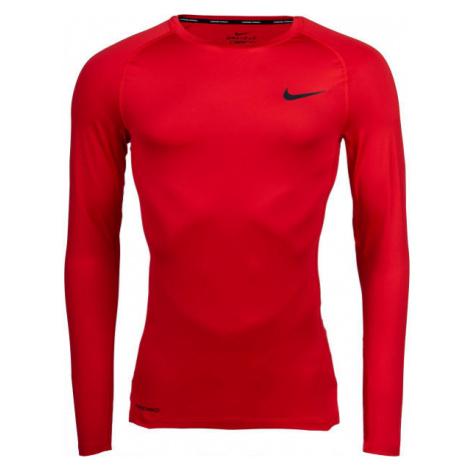 Nike NP TOP LS TIGHT M grün - Herren Trikot mit langen Ärmeln