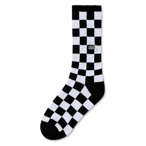 VANS Kinder Checkerboard Crew Socken (8-14+ Jahre) (black-white Check) Youth Weiß, One Size