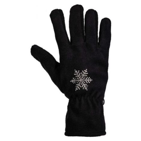 Willard MIJAKOSA schwarz - Handschuhe aus Fleece für Damen