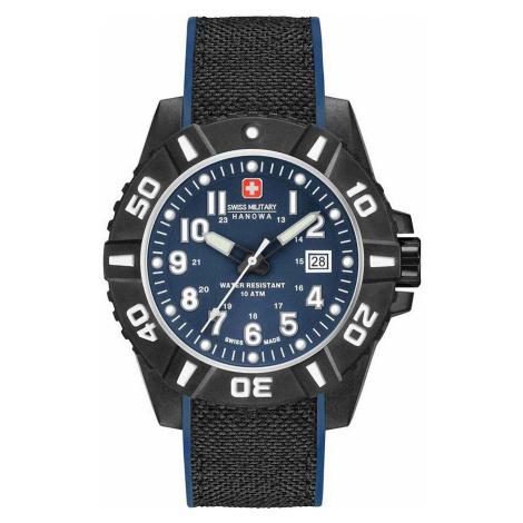 Swiss Military Hanowa 06-4309.17.003 Black Carbon Herren 44mm