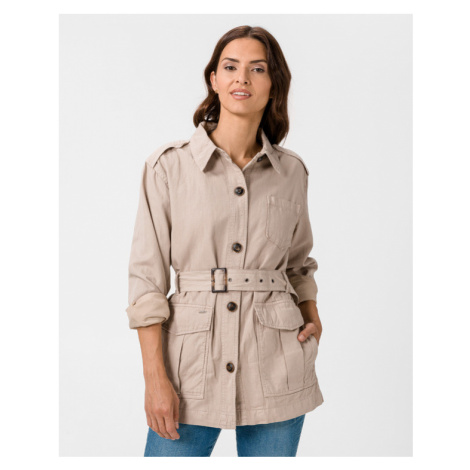 Pepe Jeans Caby Jacke Beige