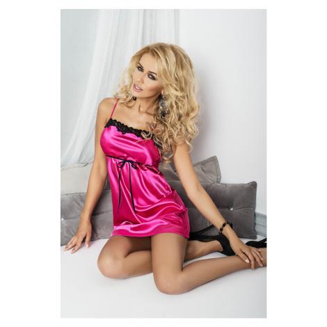 Luxuriöse Nachthemden für Damen Kalia dark pink DKaren