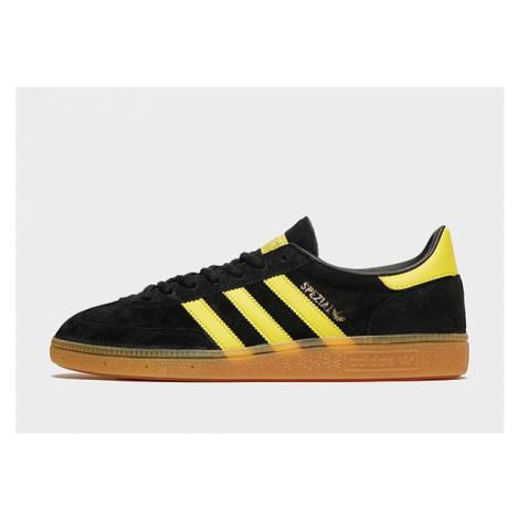 Adidas Originals Handball Spezial Schuh - Core Black / Yellow / Gold Metallic - Damen, Core Blac