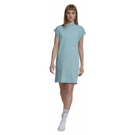 Urban Classics Damen Kleid Turtle Extended Shoulder