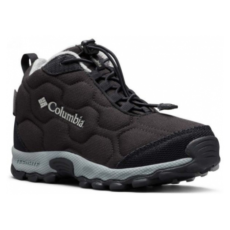 Columbia YOUTH FIRECAMP MID WP schwarz - Kinder Wanderschuhe