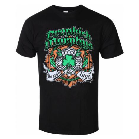 Metal T-Shirt Männer Dropkick Murphys - Shamrock Badge - KINGS ROAD - 20152607