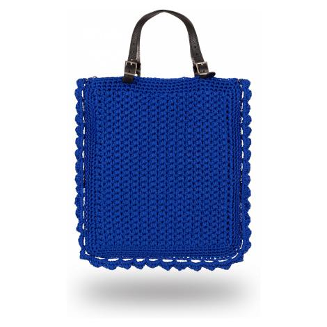 Crochet Bag Blue