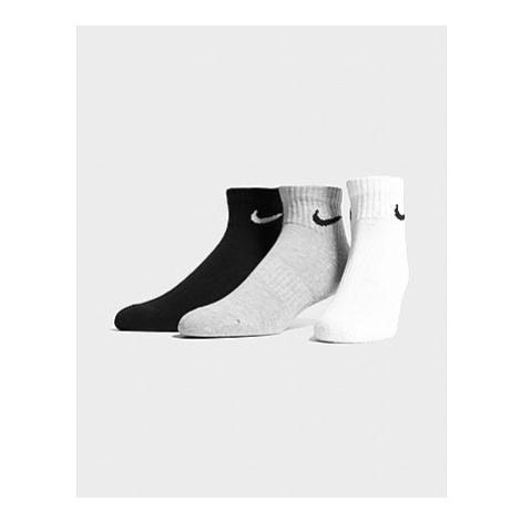 Nike 3-er Pack Socken - Damen, Multi-Colour/Grey/Black