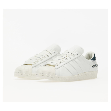 adidas x Jonah Hill Superstar Core White/ Green Night F17/ Off White