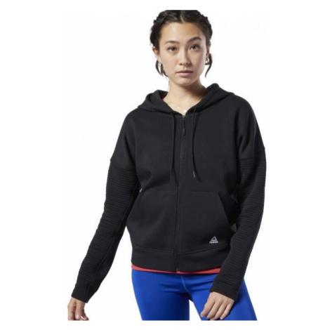 Reebok WOR VERSATILE FULL ZIP schwarz - Damen Sweatshirt