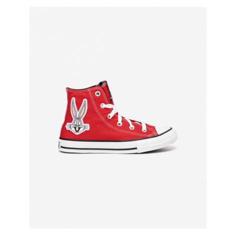 Converse Bugs Bunny Chuck Taylor All Star Hi Kinder Tennisschuhe Rot