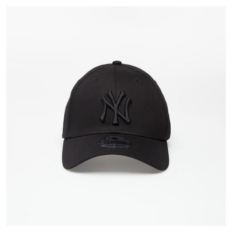 New Era Cap 39Thirty Mlb League Basic New York Yankees Black On Black