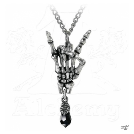 Halsband ALCHEMY GOTHIC - Maloik: Sign Of The Horns - P796