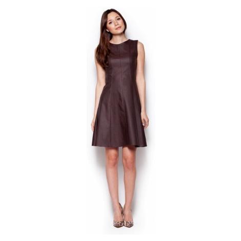 Damen Kleider M342 brown Figl