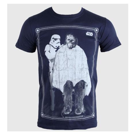 Film T-Shirt Männer Kinder Star Wars - Chewie Haircut - PLASTIC HEAD - PH8055
