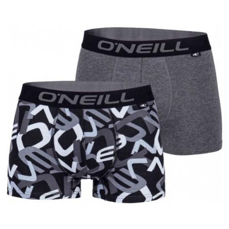 O'Neill MEN BOXER ALL OVER LETTERS 2PK weiß - Herren Boxershorts