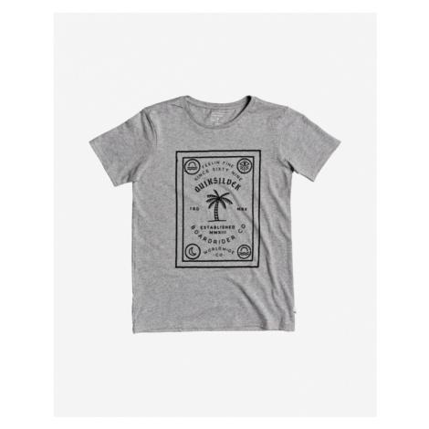 Quiksilver Bad Liar Kinder  T‑Shirt Grau