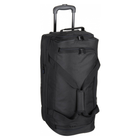 Travelite Reisetasche mit Rollen Basics Trolley Reisetasche S Schwarz (51 Liter)