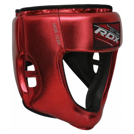 RDX J13 Kinder Boxen Kopfschutz Rot