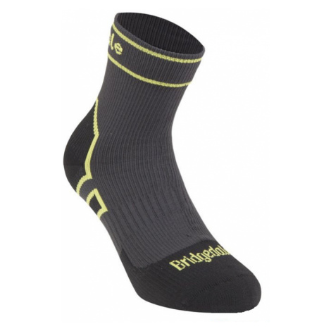 Socken Bridgedale Storm Sock LW Ankle Dark grey/lime/826