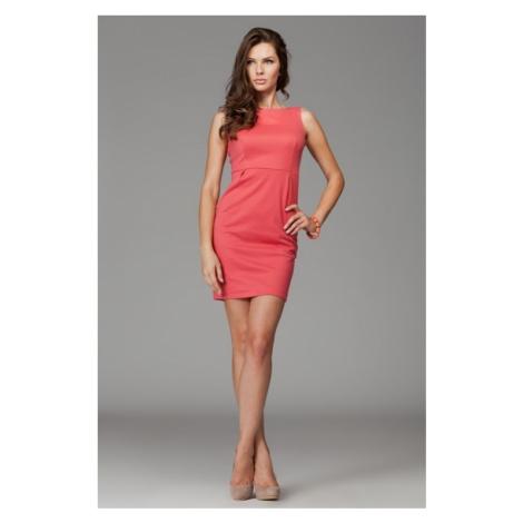 Damen Kleider M079 coral Figl