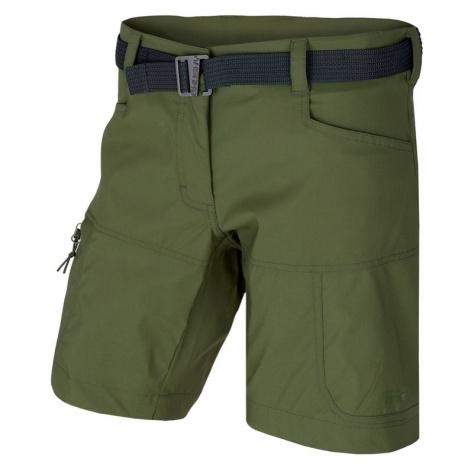 Damen Shorts Husky Kimbi L dunkelgrün