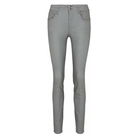 TOM TAILOR Damen Alexa Skinny Stretch-Jeans, grau