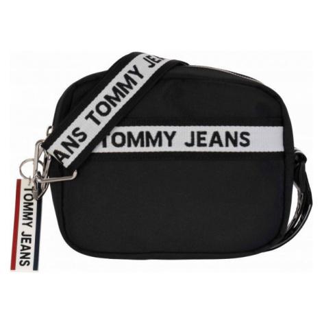 Tommy Hilfiger TJW LOGO TAPE CROSSOVER NYL schwarz - Damen Handtasche