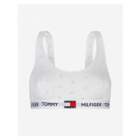 Tommy Hilfiger Burnout Büstenhalter Weiß
