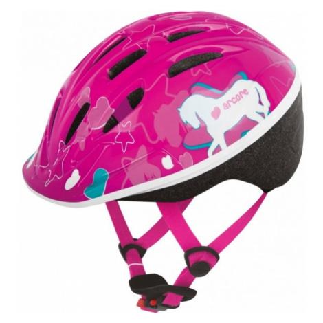 Arcore VENTO rosa - Kinder Fahrradhelm