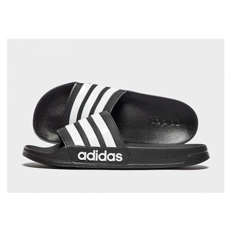 Adidas Shower adilette - Core Black / Cloud White / Core Black - Damen, Core Black / Cloud White