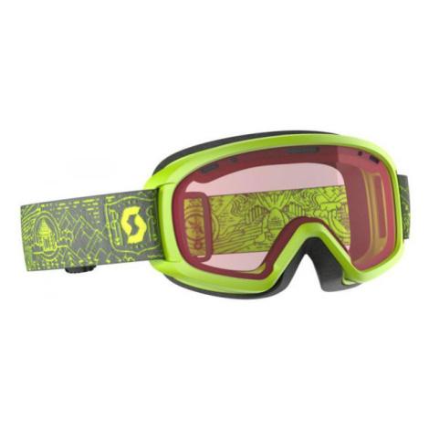 Scott JR WITTY gelb - Kinder Skibrille