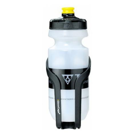 Flaschenhalter Topeak iglow mit flaschen TIG-CB01