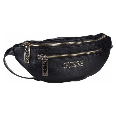 Guess Gürteltasche Manhattan Belt Bag Black (2.2 Liter)
