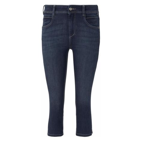 TOM TAILOR Damen Kate Slim Capri-Jeans, braun