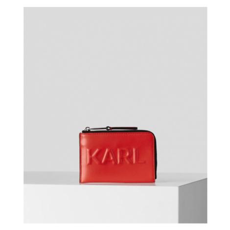 K/KARL SEVEN KARTENETUI MIT PRÄGUNG Karl Lagerfeld
