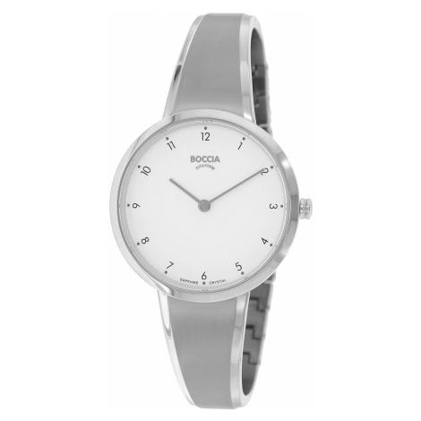 Boccia 3325-01 Damen-Armbanduhr Titan mit Saphirglas