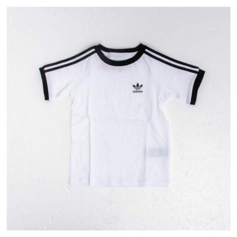 adidas 3 Stripes Tee White/ Black